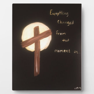 The Power of the Cross Plaque