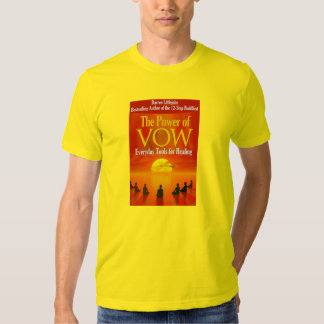 The Power of Vow Book Cover T-Shirt