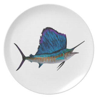 THE POWER SAIL PARTY PLATE