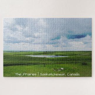The Prairies | Saskatchewan, Canada Jigsaw Puzzle