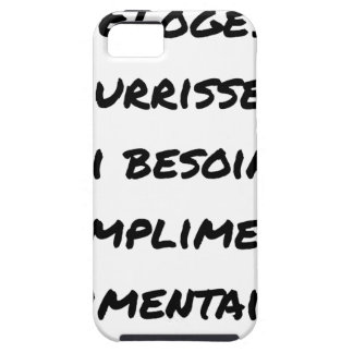 THE PRAISES NOURISH ME, I AI NEED FOR CASE FOR THE iPhone 5