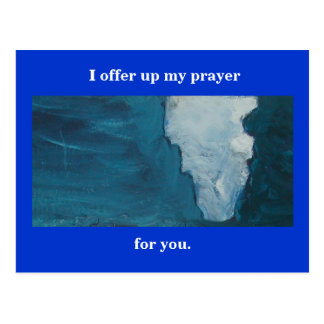 THE PRAYER - BLESSING POSTCARD