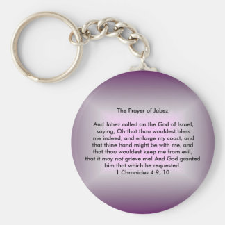 The Prayer of Jabez Keychain