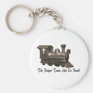 THE PRAYER TRAIN-KEYCHAIN KEY RING