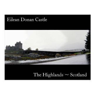 The Present and the Past, The Highlands ~ Scotl... Postcard
