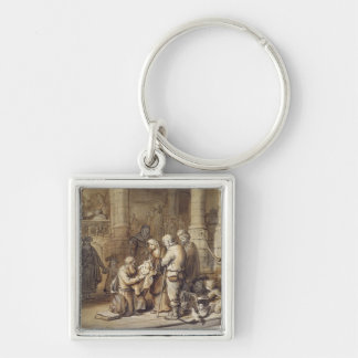 The Presentation of Christ in the Temple Keychain