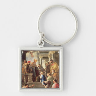 The Presentation of the Virgin at the Temple (oil Key Chain