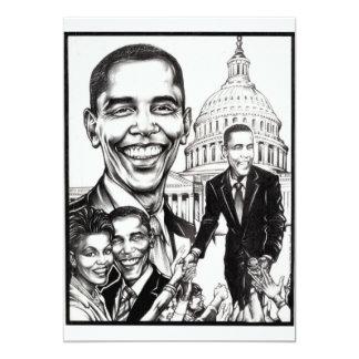 "The President - Invitations 5"" X 7"" Invitation Card"