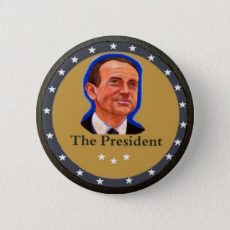 The President: Mike Huckabee 6 Cm Round Badge