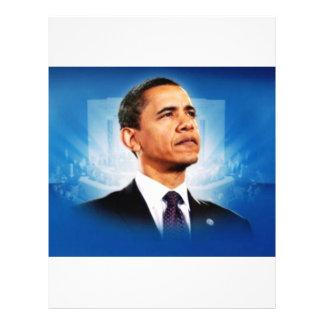 The President Obama 21.5 Cm X 28 Cm Flyer
