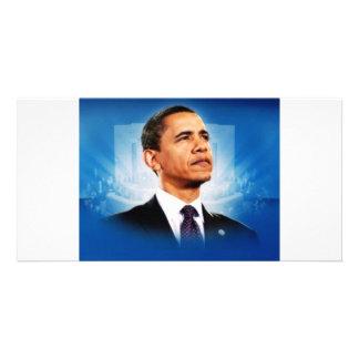 The President Obama Custom Photo Card