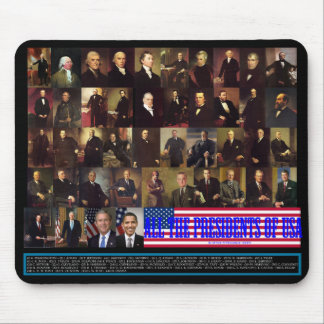 The Presidents Mouse Pad
