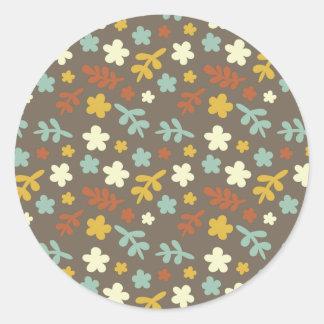 The Pretty Garden Classic Round Sticker