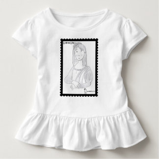 The pretty Luisa (dressed in steering wheels) T-shirts