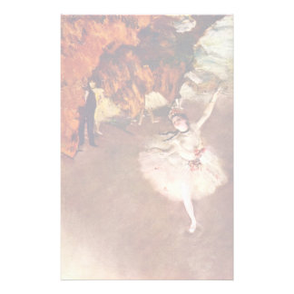 The Prima Ballerina (Rosita Mauri) By Edgar Degas Customised Stationery