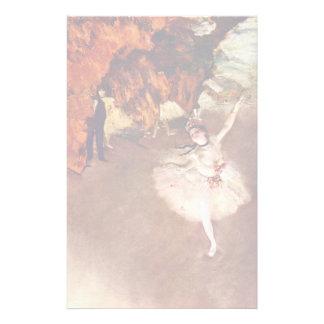 The Prima Ballerina (Rosita Mauri) By Edgar Degas Stationery