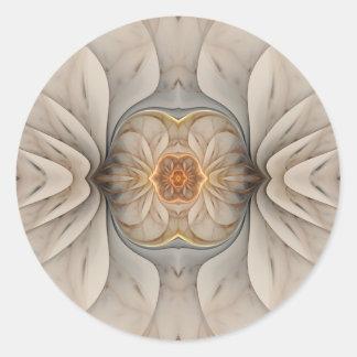 The Primal Om Round Sticker