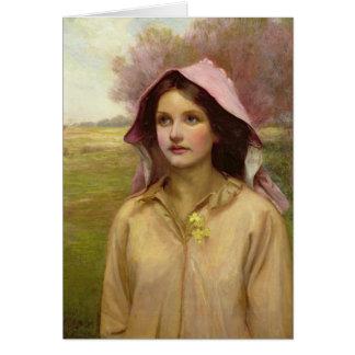 The Primrose Girl Card
