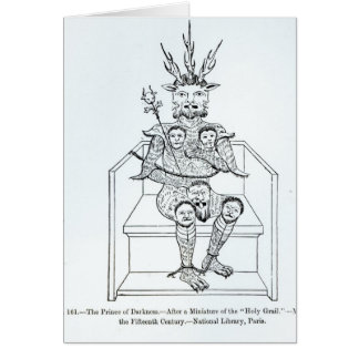 The Prince of Darkness Greeting Card