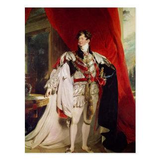 The Prince Regent, later George IV Postcard