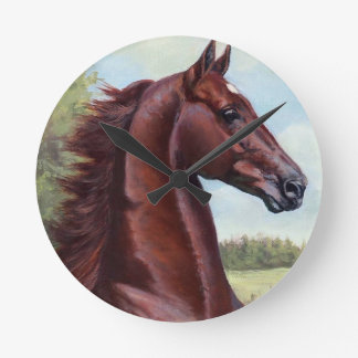 The Prince (WC Merchant Prince by JNS Fine Art Round Clock