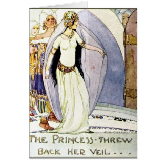 The Princess and Her Veil - Card