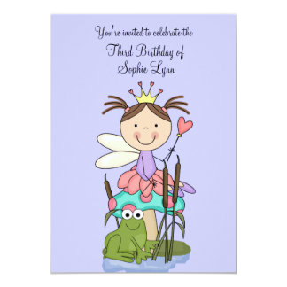 """The Princess and the Frog Party Invitation 5"""" X 7"""" Invitation Card"""
