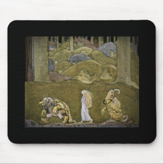 The Princess and the Trolls Mouse Pad