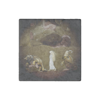 The Princess and the Trolls Stone Magnet