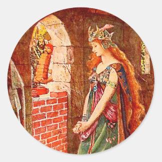 The Princess Imprisoned Classic Round Sticker