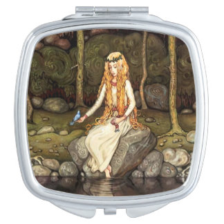 The Princess in the Forest Vanity Mirror