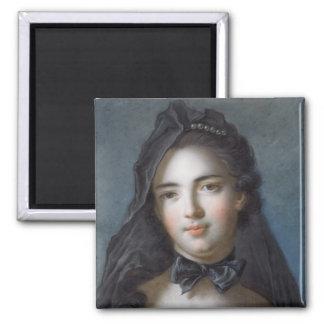 The Princess of Beauveau, nee Sophie Charlotte de Square Magnet