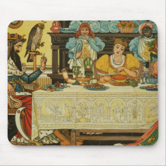 The Princess Shares her Dinner with the Frog, from Mouse Pad