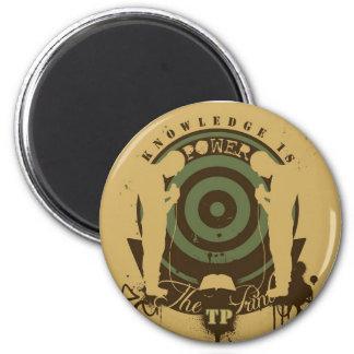 The Print Company 6 Cm Round Magnet