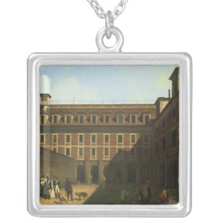 The Prison des Madelonnettes Silver Plated Necklace
