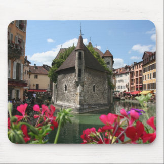 The Prison of Annecy, France Mouse Pad