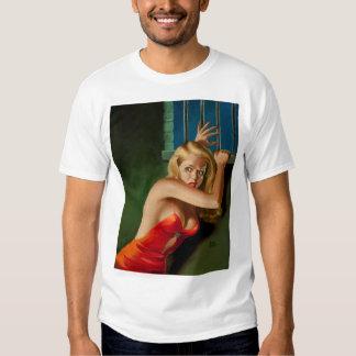 The Prisoner 1940s Pin Up Art T-shirt
