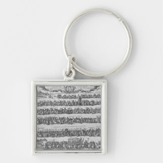 The Procession of Pope Innocent XII Key Chains