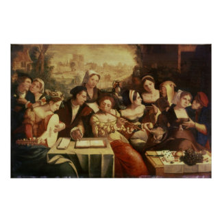 The Prodigal Son Feasting with Harlots Poster