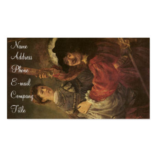 'The Prodigal Son in a Tavern' Pack Of Standard Business Cards