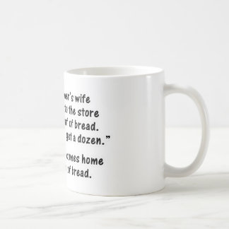 The Programmer and His Wife - Second in a series Mugs