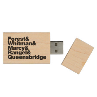 The Projects Wood USB 2.0 Flash Drive