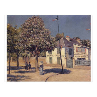 The Promenade at Argenteuil by Gustave Caillebotte Postcard