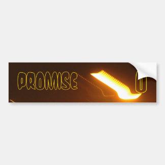 The Promise U Bumper Sticker
