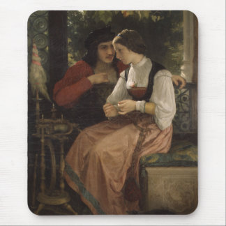 The Proposal - William Bouguereau Mouse Pad
