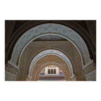 The prospect of graceful arches poster