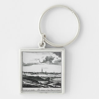 The Prospect of the Town of Glasgow Key Ring