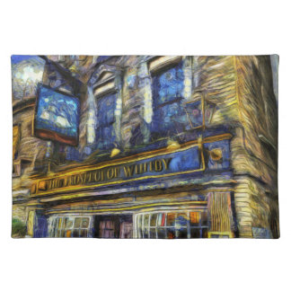 The Prospect Of Whitby Pub Van Gogh Placemat