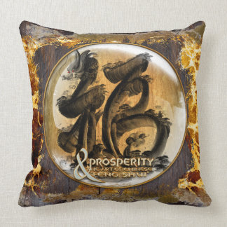 THE PROSPERITY CONNEXION : Art of Chinese Fengshui Cushion