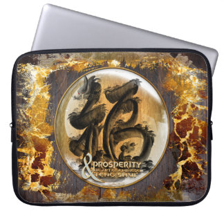 THE PROSPERITY CONNEXION : Art of Chinese Fengshui Laptop Sleeve